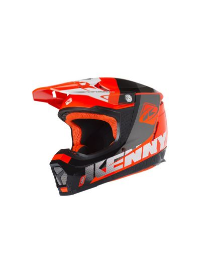 KENNY RACING PERFORMANCE motoristična cross čelada - neon oranžna