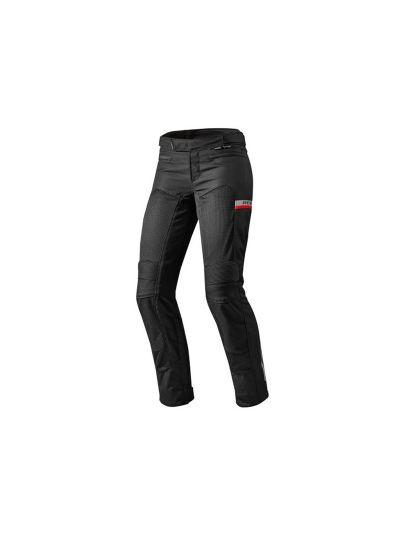 REV'IT TORNADO 2 LADY - ženske tekstilne motoristične hlače - črne