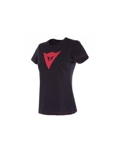 DAINESE SPEED DEMON Lady T-shirt ženska kratka majica - črna/rdeča