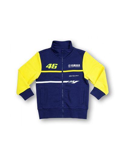Otroška jopica Valentino Rossi YAMAHA VR 46 MotoGP - modra/rumena (velikost 4 - 6 let)