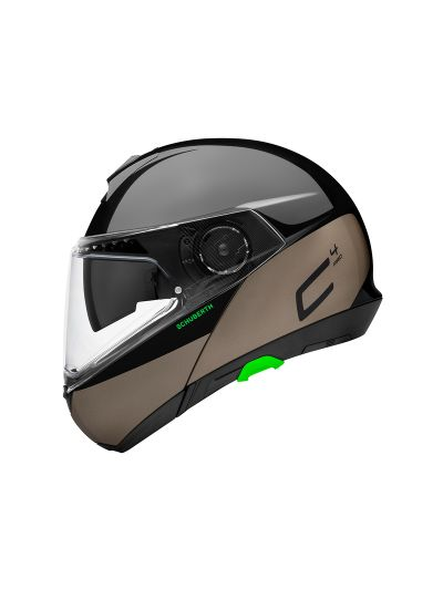 SCHUBERTH C4 PRO - Motoristična preklopna čelada - Swipe rjava