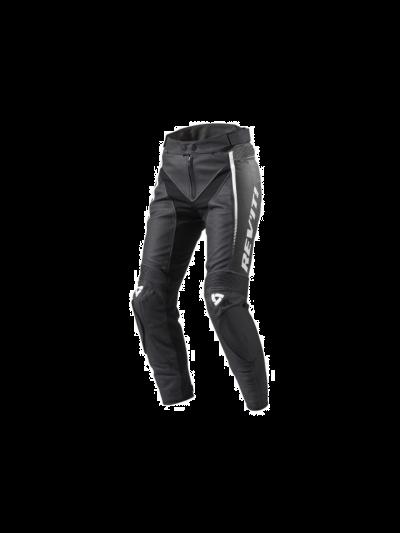 REV'IT XENA 2 LADIES usnjene motoristične hlače črno/bele