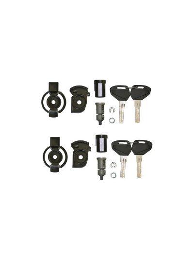 GIVI Set 2 ključavnic s ključi za kovčke