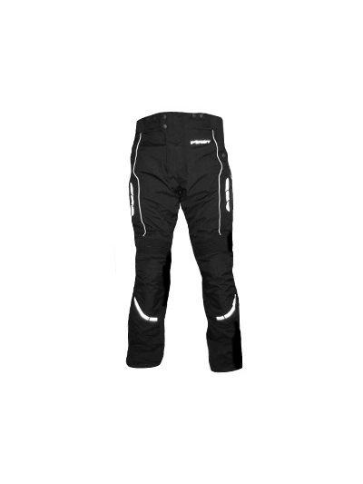Motoristične tekstilne hlače FIRST Style črne