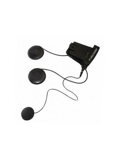CARDO Systems Zvočniki in mikrofon na kabel
