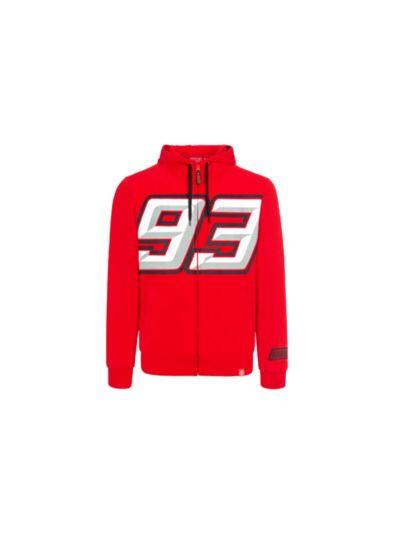 Jopa s kapuco Marquez 93   BIG93 - rdeča
