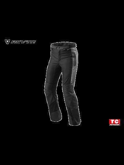 REV'IT IGNITION 3 usnjene motoristične hlače podaljšane - črne