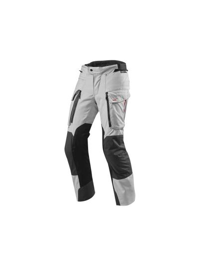 SAND 3 SHORT - REV'IT - Tekstilne motoristične hlače - skrajšane - srebrne/atracit
