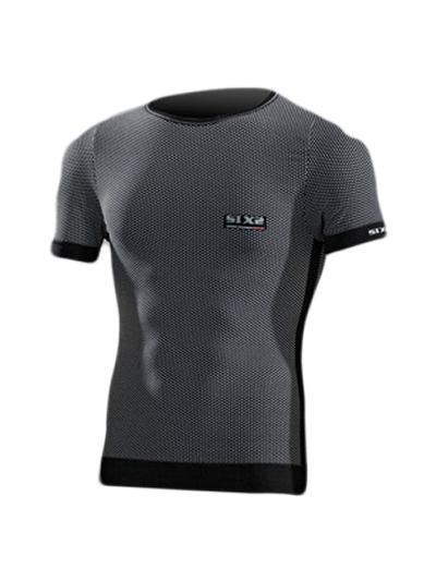 Majica s kratkimi rokavi SIXS TSH1 Carbon
