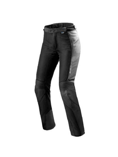 Rev'it! IGNITION 3 LADY Usnjene ženske motoristične hlače - črne