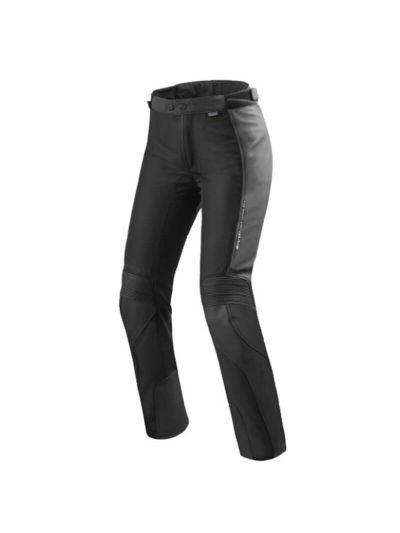 Rev'it! IGNITION 3 LADY Usnjene ženske hlače - skrajšane - črne