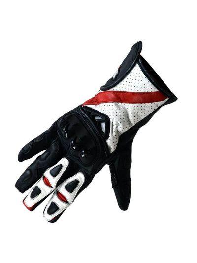 Motoristične usnjene rokavice ATROX 4105