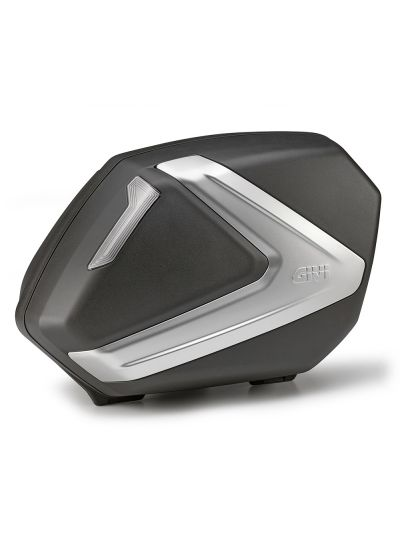 GIVI V37NT motoristična stranska kovčka | 37 L - črn/srebrn