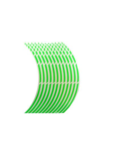Obroba za platišča Keiti WS810 - fluo zelena