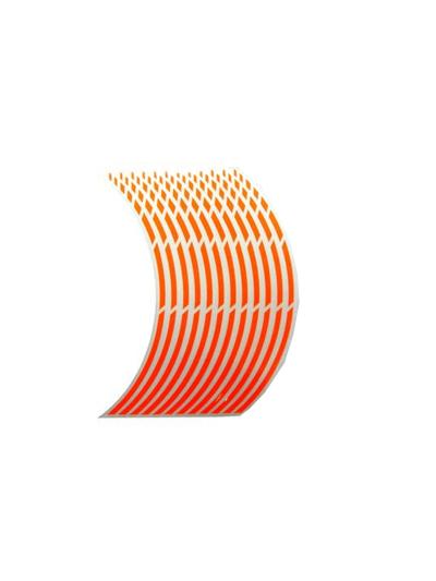 Obroba za platišča Keiti WS810 - fluo oranžen