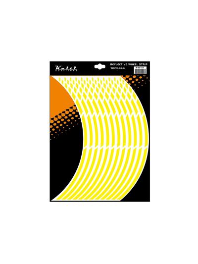 Obroba za platišča Keiti WS810 - fluo rumena