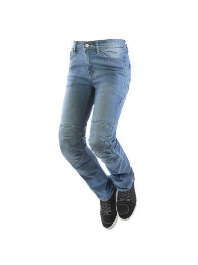 Ženske motoristične jeans hlače z vodoodporno membrano OJ STORM Lady