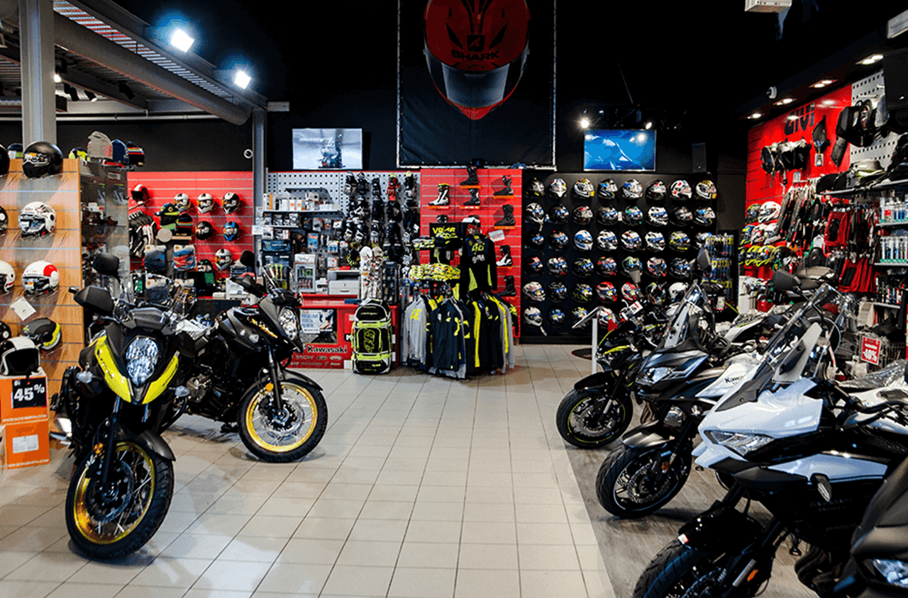 Prenovljeni Salon TC Motoshop