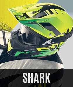 Shark enduro čelade