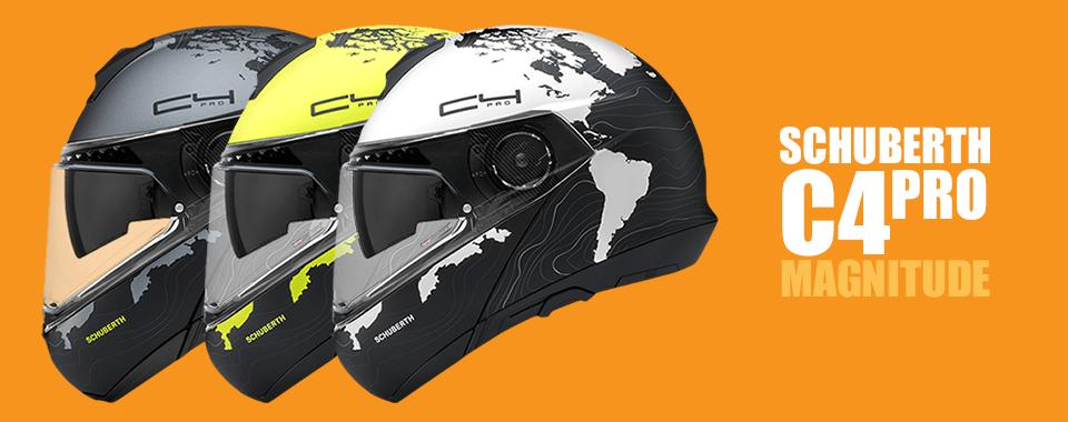Preklopna čelada Schuberth C4 Pro Magnitude