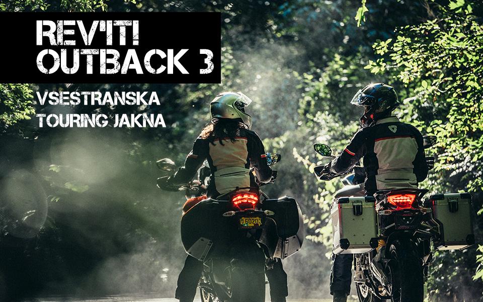 Motoristična touring jakna Revit Outback 3