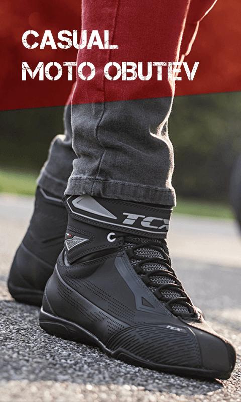 Casual motoristična obutev
