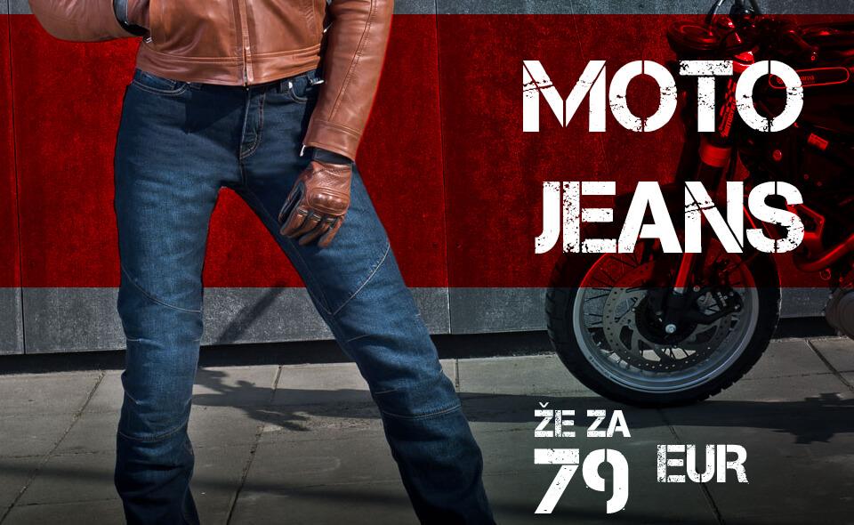 Motoristične jeans hlače