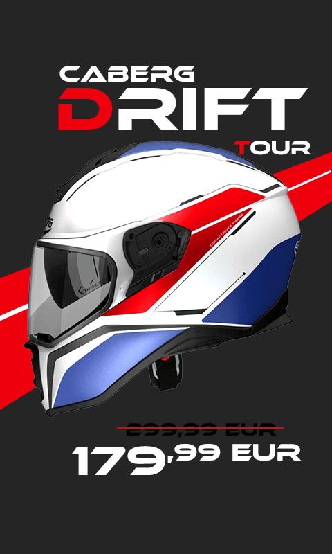 Caberg Drift Tour
