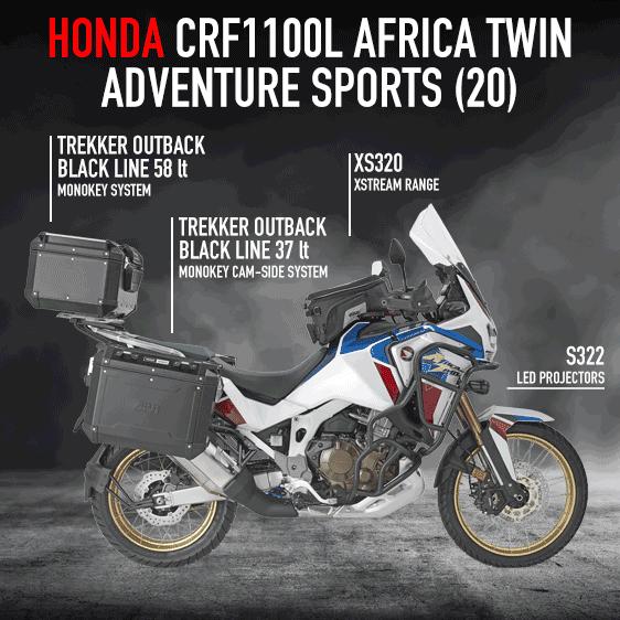 Opremite si motor - Honda Africa Twin