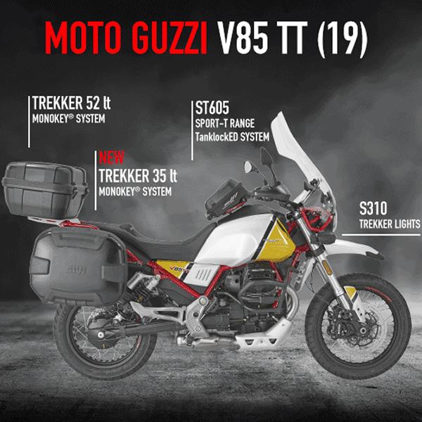 Opremite svoj motor - Moto Guzzi V85 TT