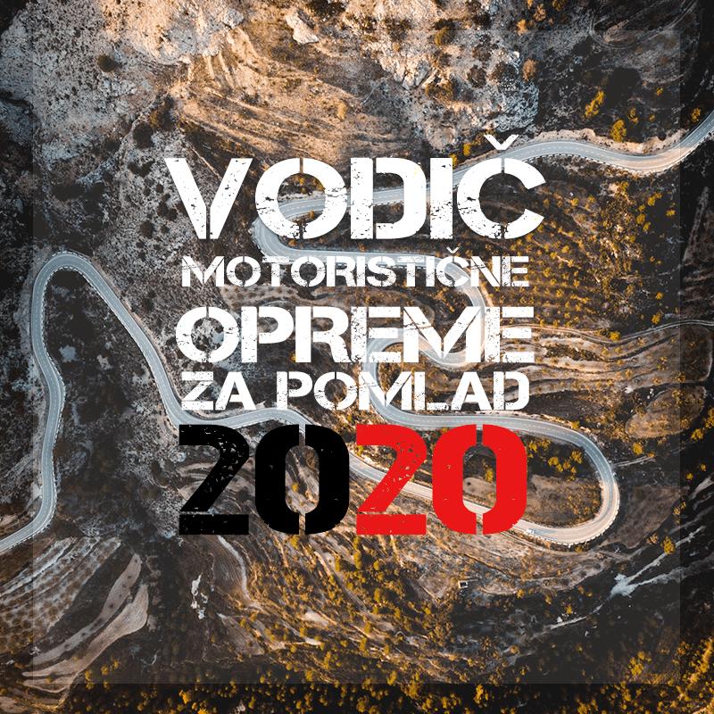 Vodič po motoristični opremi za zgodnjo pomlad 2020