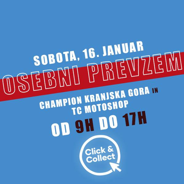 Click & Collect Sobota v Kranjski Gori