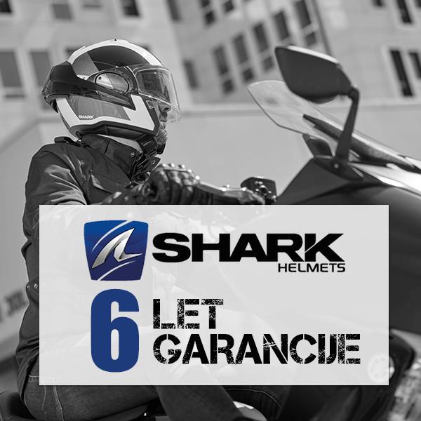 Sharkove čelade s 6-letno garancijo v 2020