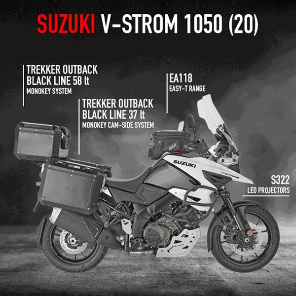 Opremite svoj motor - Suzuki V-Strom 1050 (2020)