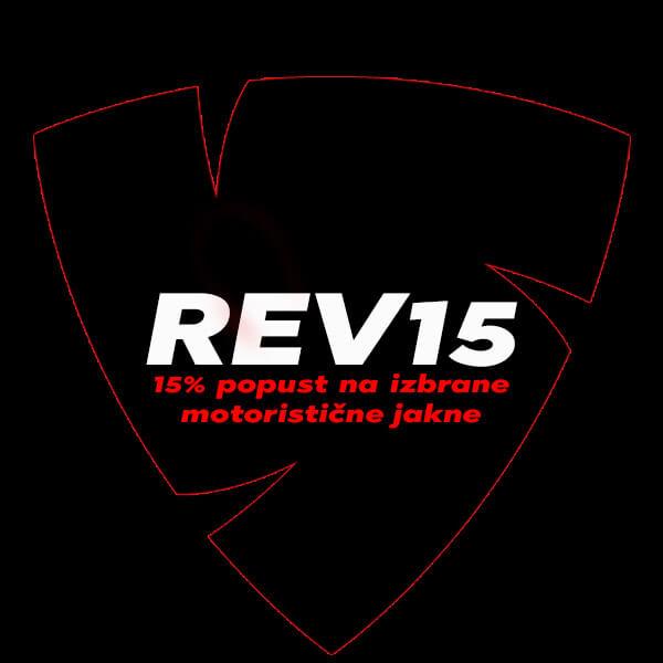 Izbrana oblačila REV'IT s 15% popustom